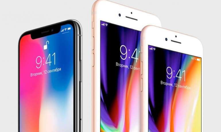 Apple начала замедлять прошлогодние iPhone 8, 8 Plus и iPhone X